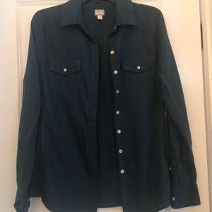 Women's Converse button up shirt